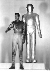 Os primeiros Klaatu e Gort