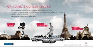 Hotsite Citroën - Ano da França no Brasil