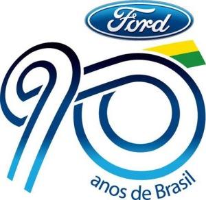 Selo comemorativo dos 90 anos da empresa no país