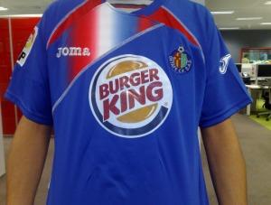 Nova camisa do Getafe