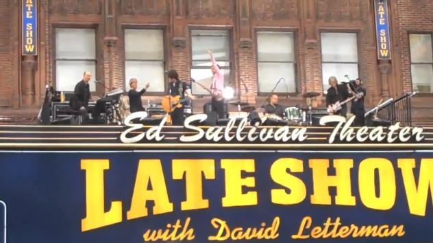 Paul McCartney no Topo do Teatro Ed Sullivan