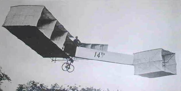 Voo do 14 Bis em 1906