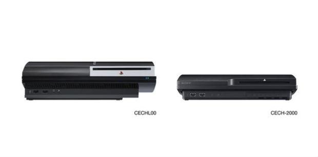 Visivel diferença entre a atual e a nova versão do PS3