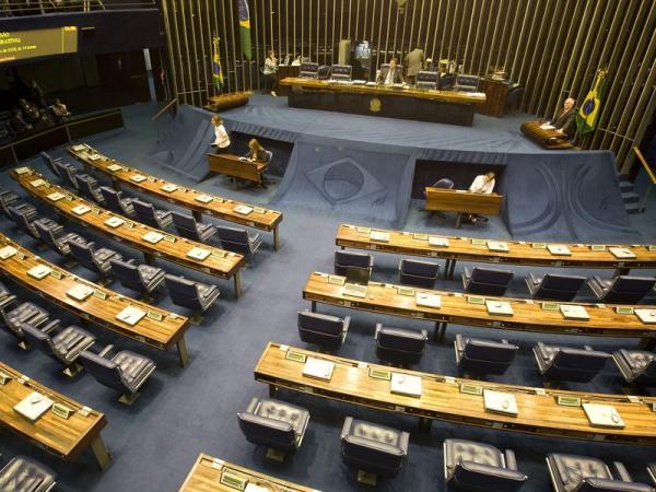 Plenário do Senado vazio
