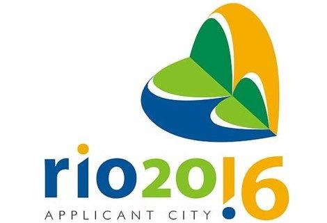 """O logo da candidatura carioca. O slogan é """"Viva sua Paixão"""""""