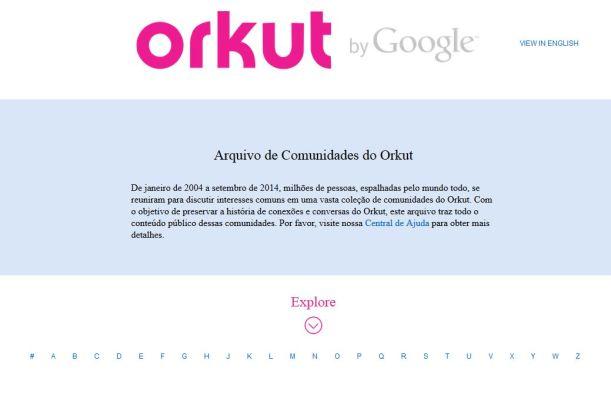Orkut vira um museu das suas comunidades